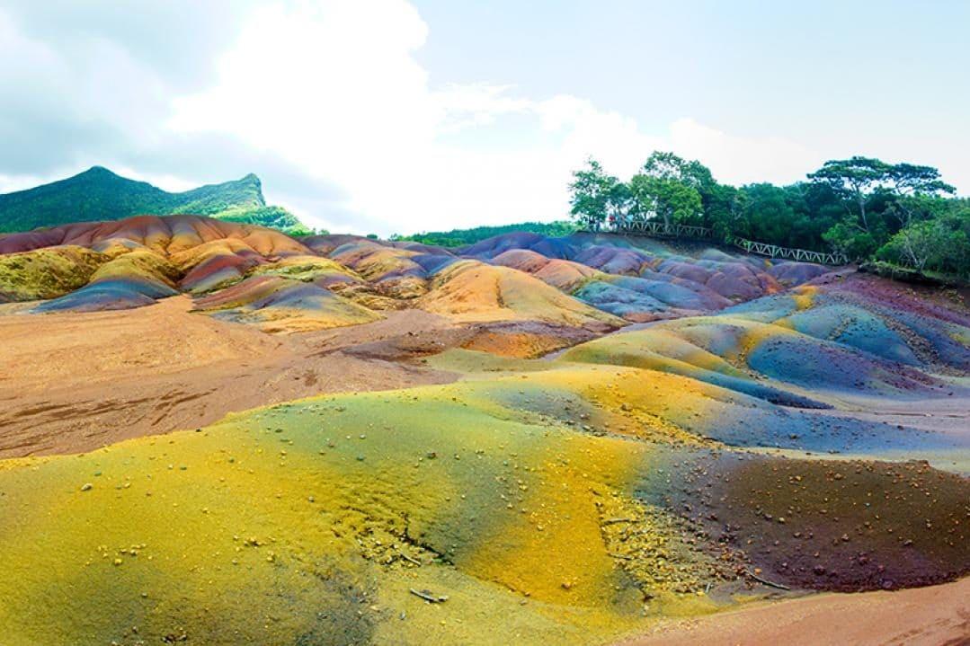 Terre des 7 couleurs et Chamarel